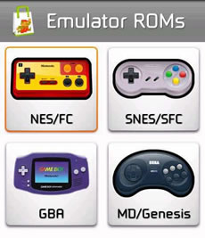 PS4 roms snes nes psx gba